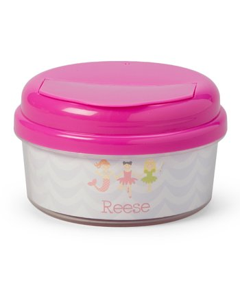 Princcess Lineup Personalized Snack Container
