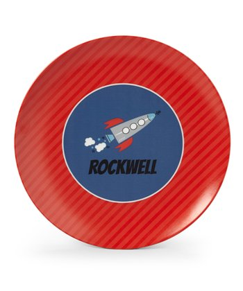Red Rocket Personalized Plate