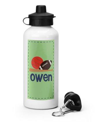 Sports Personalized Water Bottle