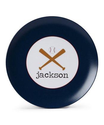 Baseball Personalized Plate
