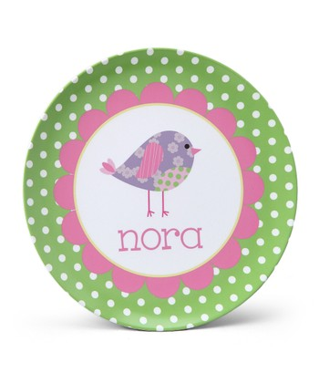 Birdie Personalized Plate