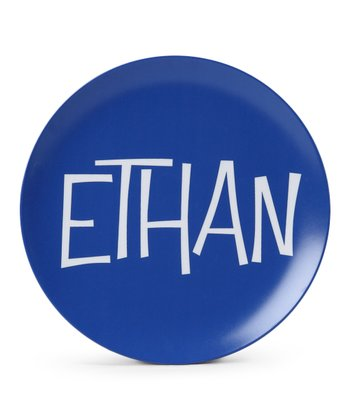 Blue Personalized Plate