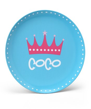 Crown Personalized Plate