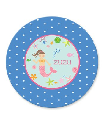 Mermaid Personalized Plate