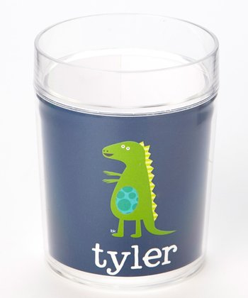 Blue Dinosaur Personalized Cup