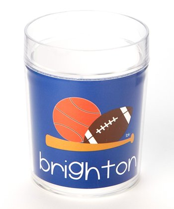 Blue Sports Personalized Cup