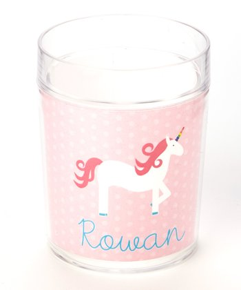 Pink Unicorn Personalized Cup