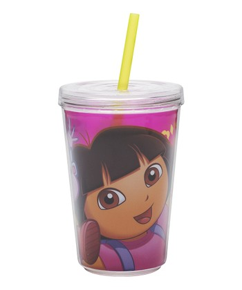 Dora the Explorer 13-Oz. Tumbler & Straw