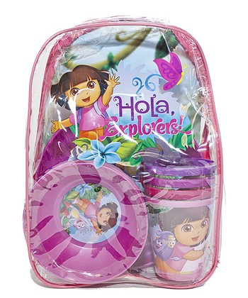 Dora Picnic Backpack Set