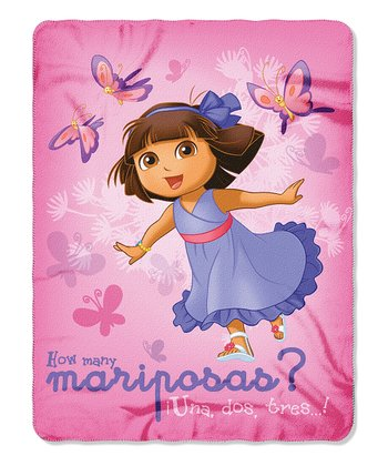 Dora Butterfly Throw