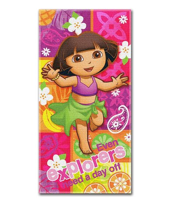 Dora Summer Salsa Beach Towel