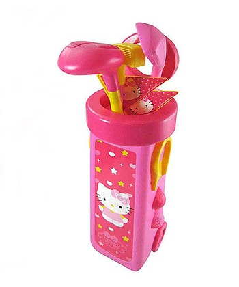 Hello Kitty Golf Caddy Set