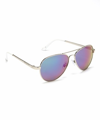 White Hello Kitty Pilot Sunglasses