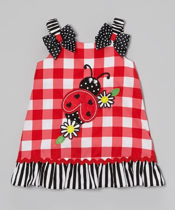 Red Ladybug Swing Dress - Infant, Toddler & Girls