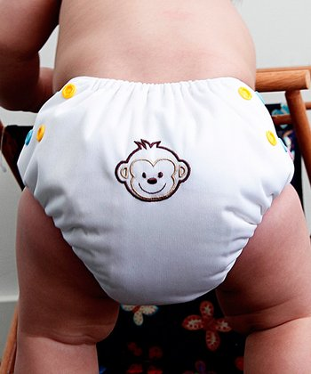 Monkey All in One Diaper