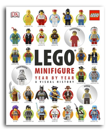 LEGO Minifigure Year by Year: A Visual History Hardcover