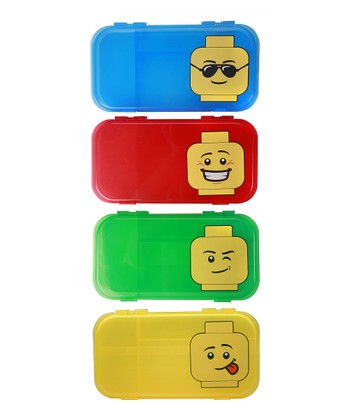 LEGO City Mini Figure Case - Set of Six