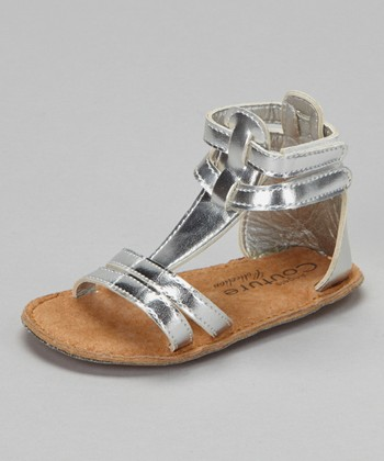 Angels Couture Silver Gladiator Sandal