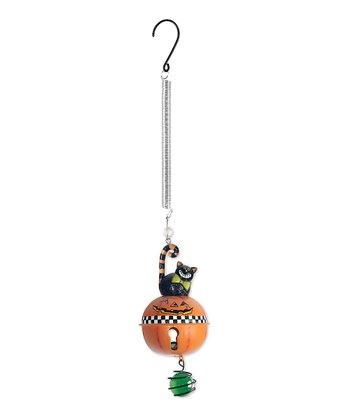 Pumpkin Bell Bouncy Ornament
