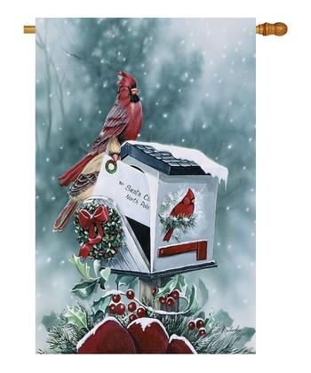 Two Group Flag Co. Christmas Cardinals Flag