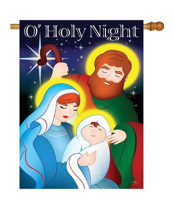 Two Group Flag Co. 'O Holy Night' Flag