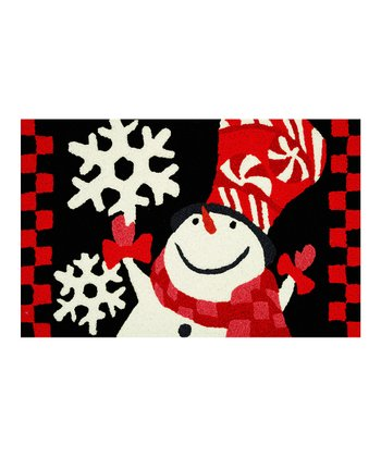 Snowman Indoor/Outdoor Rug