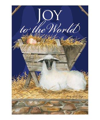 'Joy to the World' Garden Flag