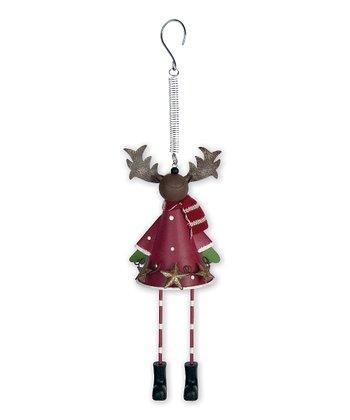 Jolly Reindeer Bouncy Ornament