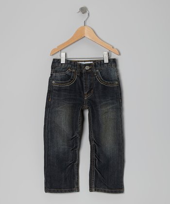 Blue Brush Jeans - Toddler & Boys