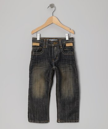 Ocean Brush Jeans - Toddler & Boys