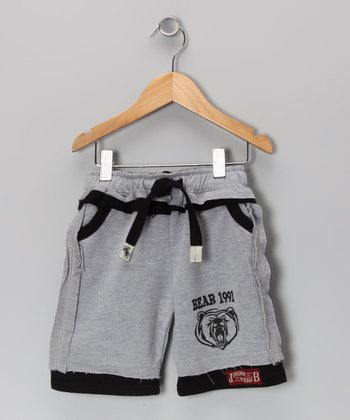 Ash 'Bear 1991' Shorts - Infant, Toddler & Boys