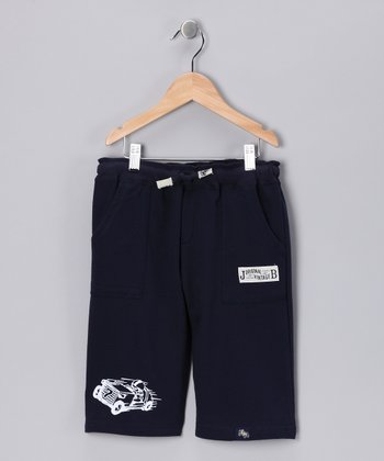Navy Cropped Pants - Infant, Toddler & Boys