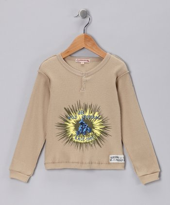 JB Original VintageTan 'Wild' Henley - Infant, Toddler & Boys