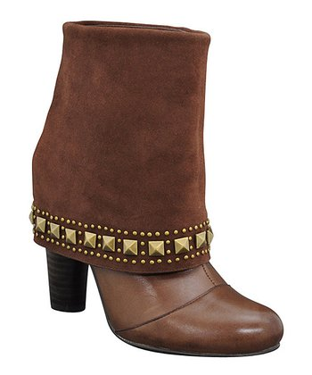 Brown Ashbury Cuff Boot