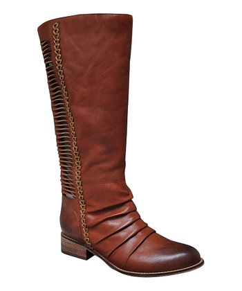 Whiskey Fringe Boot