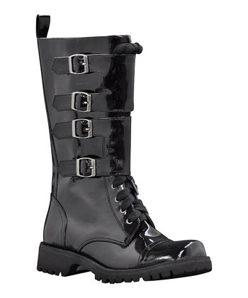 Black Hold Up Boot