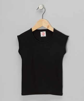 Black Sleeveless Tee - Infant & Toddler