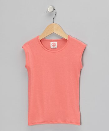 Coral Sleeveless Tee - Infant, Toddler & Girls