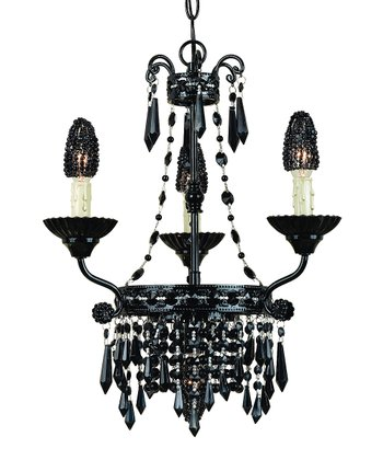 Black Savoy Chandelier