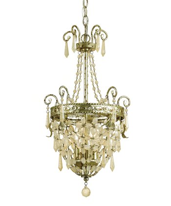 Soft Gold Beatrice Chandelier