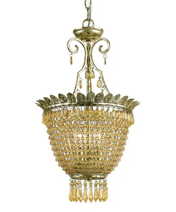 Soft Gold Danika Chandelier