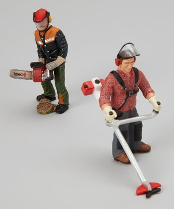 Forestry Worker Figurine Set