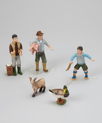 Farm Scene Figurine Set