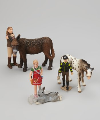 Farm Animal Figurine Set