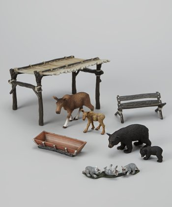 Fanciful Forest Animal Figurine Set