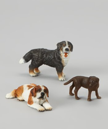 Big Dog Figurine Set