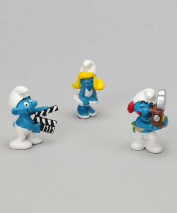 Movie Smurf Figurine Set