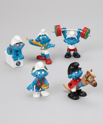 Sporty I Smurf Figurine Set