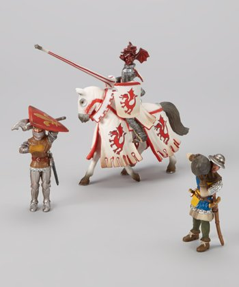 Knight & Soldier Figurine Set