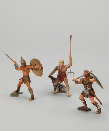 The Invincible Warriors Figurine Set